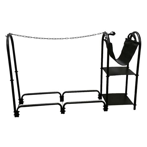 Wood Rack Lowes by Shop Style Selections Steel Third Cord Firewood Rack At