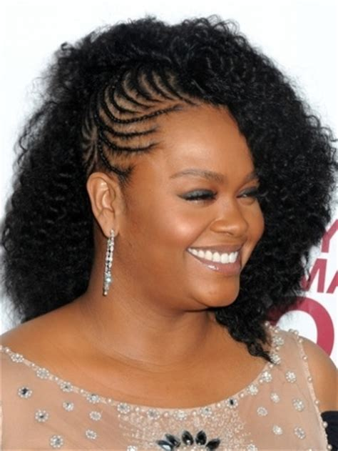 show differennt black hair twist styles for black hair braided mohawk natural hair pinterest braided mohawk