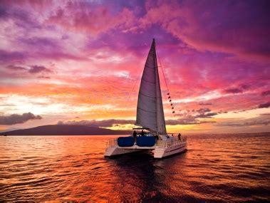 catamaran sunset cruise gold coast sail trilogy deluxe kaanapali sunset sail