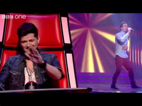 bill downs performs 'she said' the voice uk blind