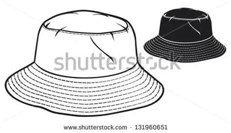 bucket hat coloring page bucket hat stock images royalty free images vectors