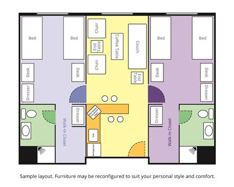 free room layout room layouts saint xavier university
