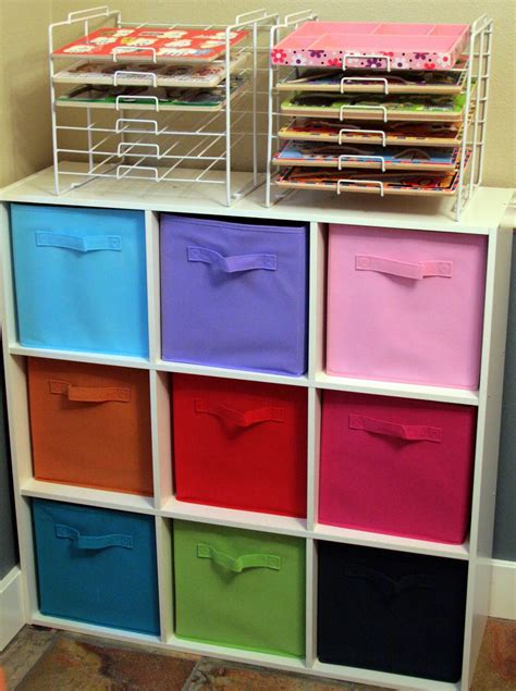 innovative storage shelves with bins home decorations