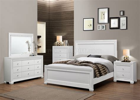Lima 5pc Bedroom Set In White Finish By Chintaly W Options Lima Bedroom Furniture