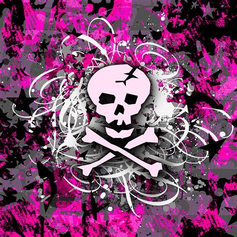 wallpaper skull pink pink skull wallpaper wallpapersafari