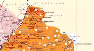 Virginia Wine Map by The Appalachian Appellations More On Virginian Wines