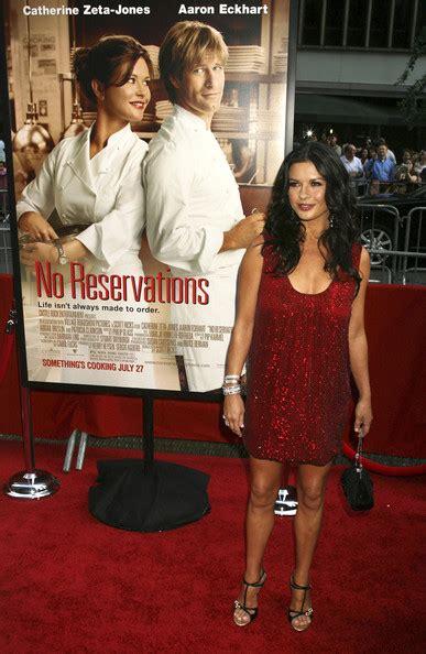 Catherine Zeta Jones At No Reservations Premiere With Leiber Bag by Catherine Zeta Jones Photos Photos No Reservations Ny