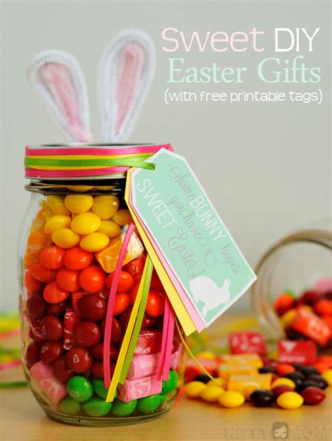 diy easter gifts 2 sweet diy easter gift ideas with printable tags