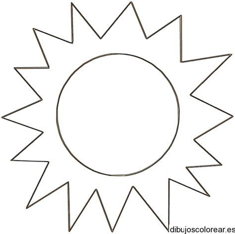 sol para recortar dibujo de un gran sol