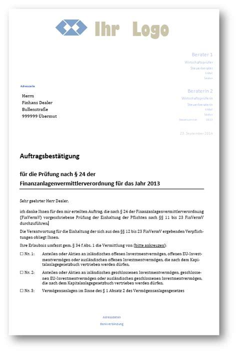 Angebot Zur Zusammenarbeit Muster muster pr 252 fungsbericht f 252 r 167 34 f gewo 167 24 finvermv