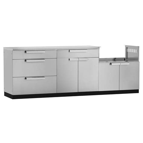 outdoor stainless steel cabinets newage products stainless steel 4 97x36x24