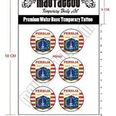 tattoo murah jakarta selatan tato temporer logo bola barcelona tato temporer stiker