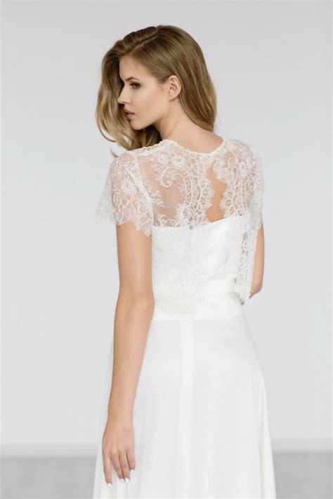 wedding dress lace top bridal lace top bridal bolero beaded wedding top