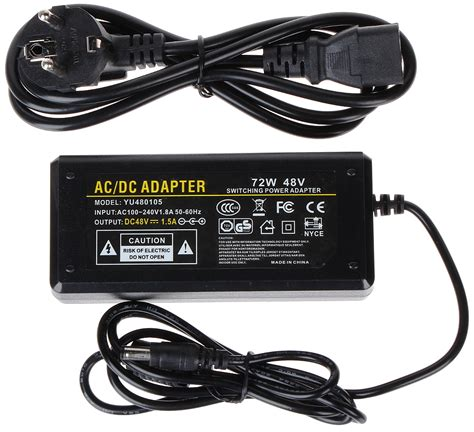 Adaptor 48v 1 5a Dc switching adapter 48v 1 5a 5 5 with indoor delta