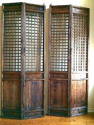 asian doors antique screen panels 5376 temple door