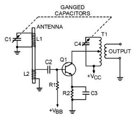 rf transistor lifier design and matching networks figure 2 19 typical am radio rf lifier