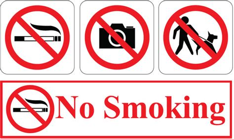 no smoking sign drawing no smoking free vector in encapsulated postscript eps