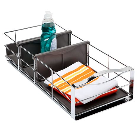cabinet organizers the container store simplehuman 9 quot pull out cabinet organizer the container