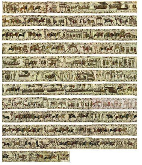 tappezzeria di bayeux storia medievale arazzo di bayeux animato