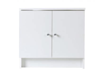 meuble de salle de bain sous vasque blanc meuble salle