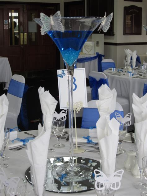 Giant Martini Glass Decoration Table Centrepieces At Let S Celebrate Weddings In
