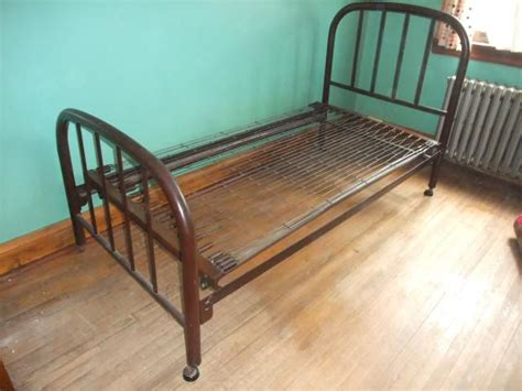 Iron Cribs Canada by Sold Vintage Antique Metal Simmons Single Bed Frame Etobicoke Toronto