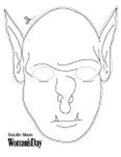 printable goblin mask free printable masks for halloween
