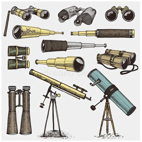 sextant and quadrant set of astronomical instruments telescopes oculars and