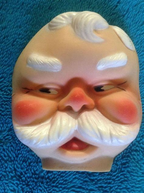 rubber st faces doll accessories santa claus st nicholas 1966
