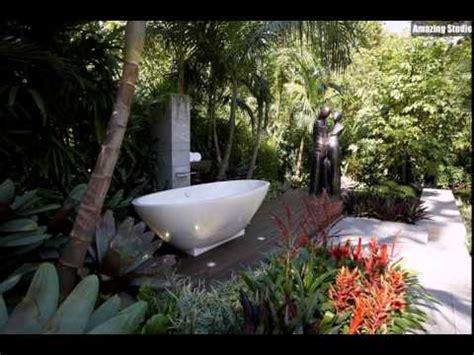outdoor badezimmer mit dusche und badewanne - Outdoor Badezimmer