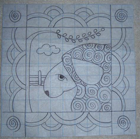 free rug hooking patterns the willow primitive sheep pillow rug hooking pattern