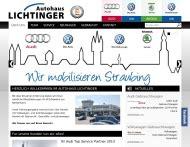 Auto Lichtinger by Autohaus Lichtinger Straubing Auto