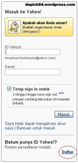 membuat email org cara membuat atau mendaftar email di yahoo diary of pick