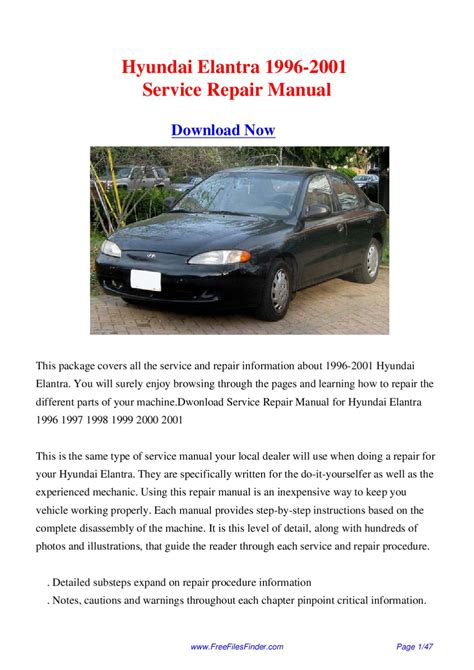 haynes hyundai elantra 1996 2001 auto repair manual nos hyundai elantra 1996 2001 service repair manual by hong lii issuu