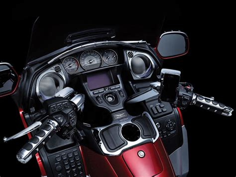 honda goldwing led lights goldwing gl1800 f6b speaker grills with lights