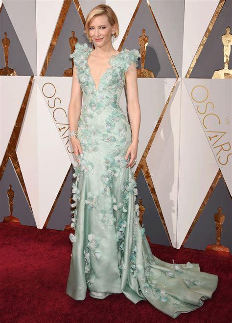 Oscars Carpet Cate Blanchett by 10 Oscar Carpet Winners S Magazine