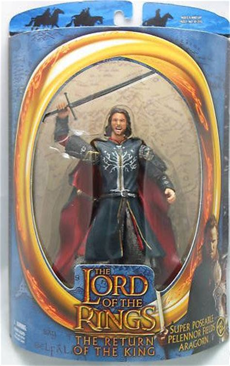Toybiz Lord Of The Rings King Elendil Figure lotr aragorn pelennor fields toybiz 6 quot figure mip rotk return king 2003