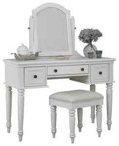 White Bedroom Vanity Set Vanity Table Set In White Finish Style Bedroom And Makeup Vanities