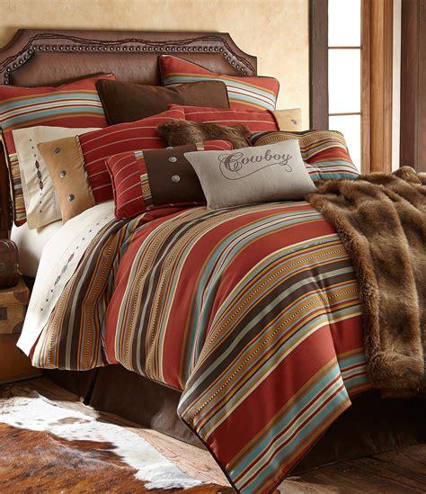 serape bedding hiend accents calhoun serape striped faux suede comforter