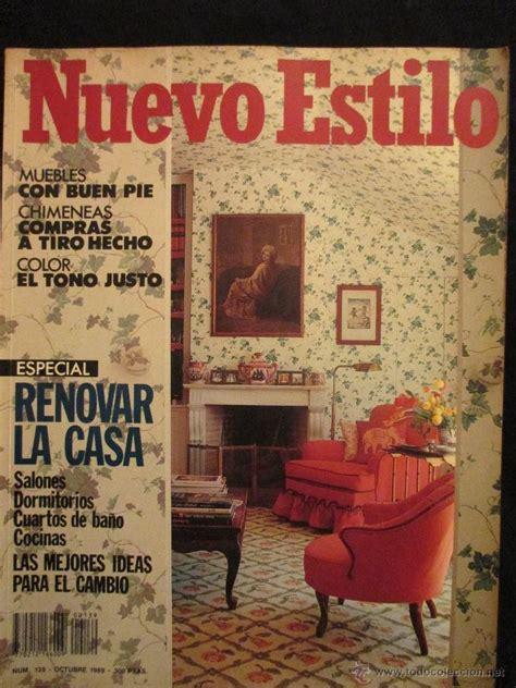 revistas de decoracion revista de decoracion nuevo estilo n 186 139 oct comprar