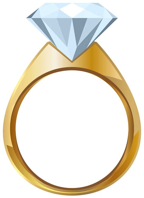 rings images free gold engagement ring png transparent clip image