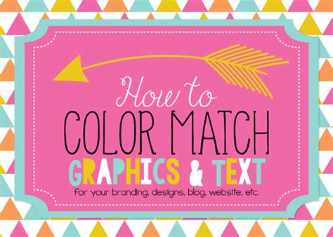 matching colours with pink erin bradley designs tutorial how to color match outside