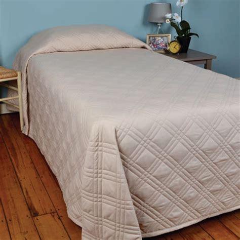 berkshire bedding berkshire cozycare classic bedspread flame retardant twin