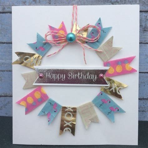 Handmade Cards With Ribbon - 1000 ideas about washi journal on washi
