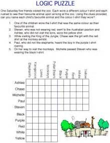 animal logic puzzle