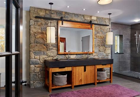 stone wall bathroom 30 exquisite inspired bathrooms with stone walls
