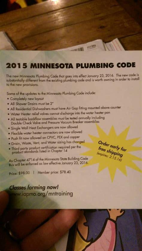 Minnesota State Plumbing Code by New Minnesota Plumbing Code 2015 Page 3 Plumbing Zone