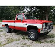 Buy Used 1985 Chevrolet Silverado K10 4X4 Pickup Truck