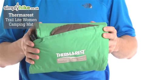 thermarest trail lite cing mat www simplyhike