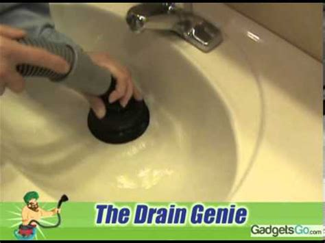 bathtub unclogger drain genie sink bathtub floor drainage unclogger youtube